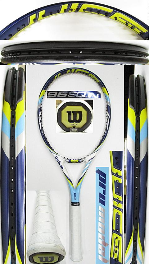 【中古 テニスラケット】W1120 ウイルソン ジュースプロ