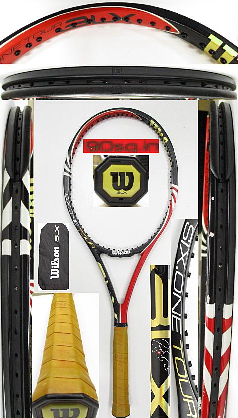 【中古 テニスラケット】W1121 ウイルソン SIX.ONEツアーBLX
