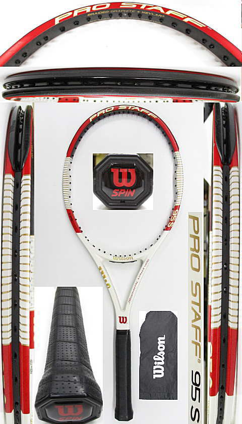 【中古 テニスラケット】W1128 プロスタッフ95S