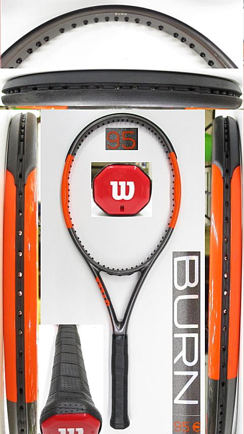 【中古 テニスラケット】W1132 ウイルソン バーン95CV(2017年モデル)