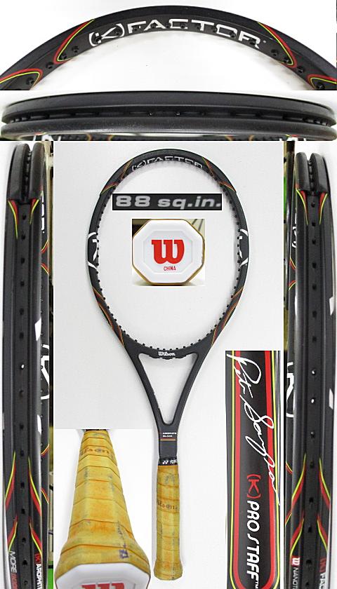 【中古 テニスラケット】W1134 ウイルソン [K]プロスタッフ