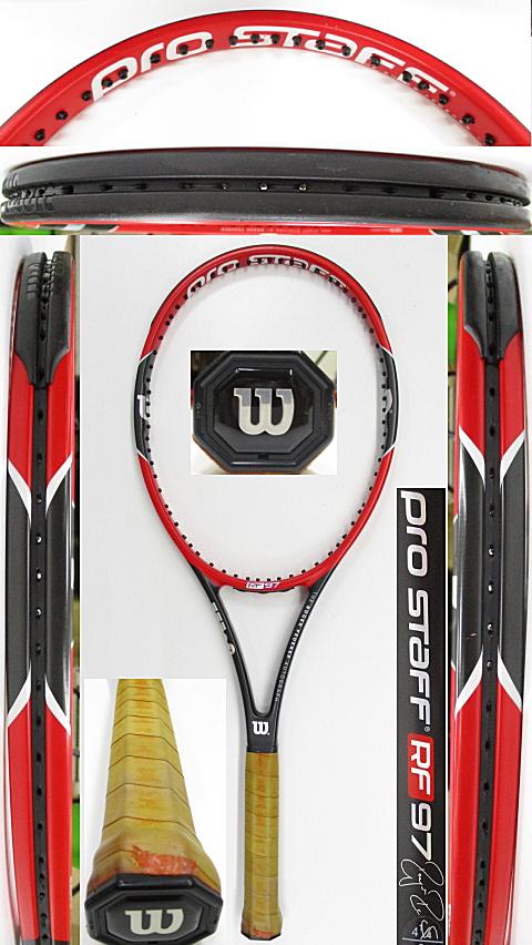 【中古 テニスラケット】W1135 ウイルソン プロスタッフRF97