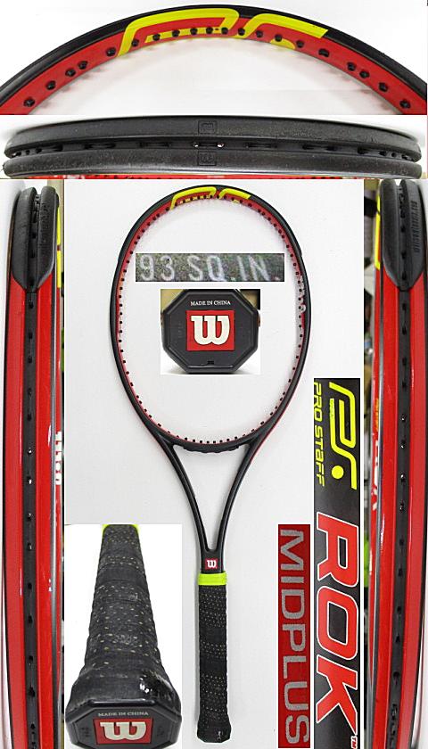 【中古 テニスラケット】W1140 ウイルソン プロスタッフROK/93