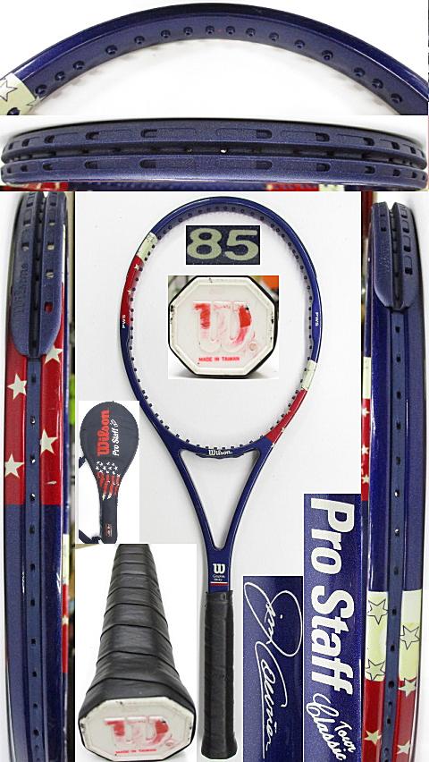 【中古 テニスラケット】W1143 ウイルソン プロスタッフ ツアークラシック ジムクーリエモデル