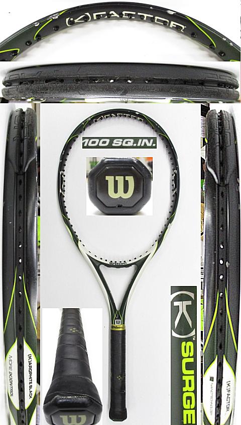 【中古 テニスラケット】W1145 ウイルソン [K]サージ100