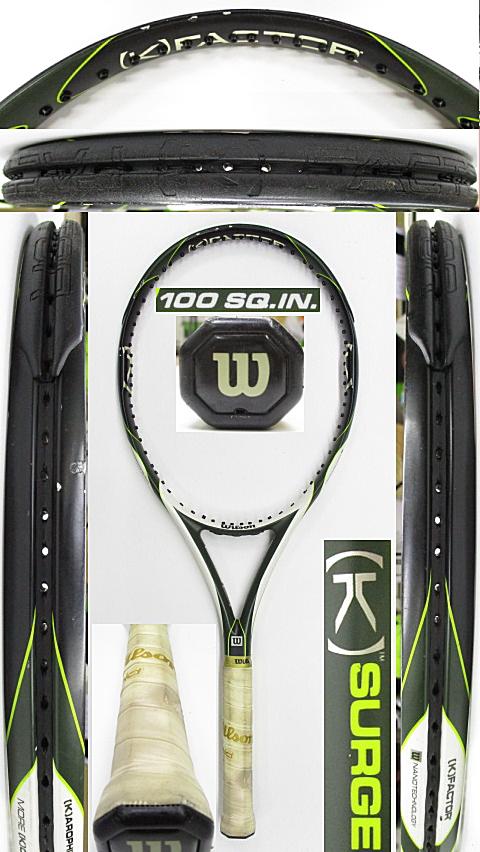 【中古 テニスラケット】W1146 ウイルソン [K]サージ100