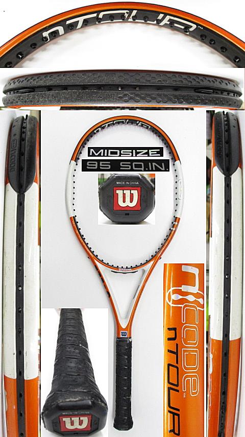 【中古 テニスラケット】W1147 ウイルソン nツアー95