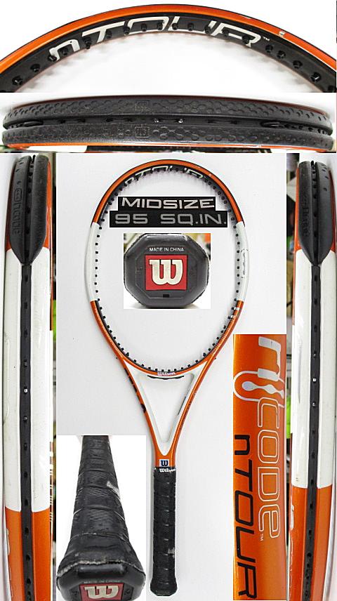 【中古 テニスラケット】W1148 ウイルソン nツアー95