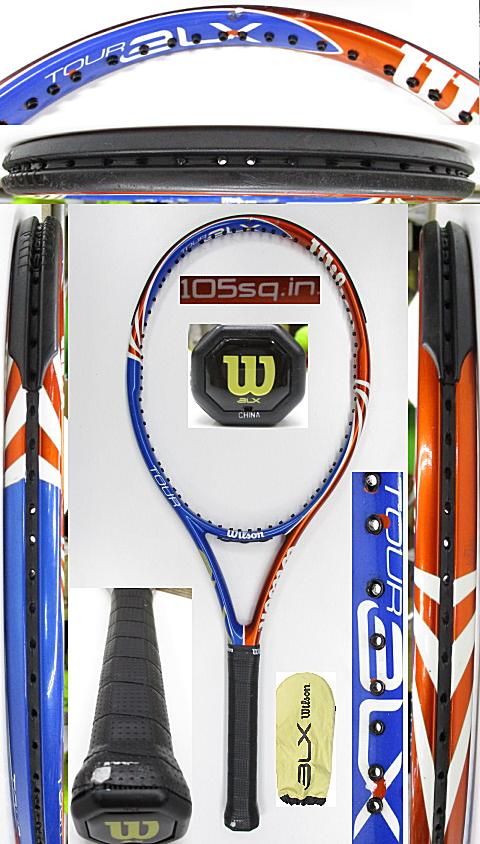 【中古 テニスラケット】W1149 ウイルソン ツアーBLX105