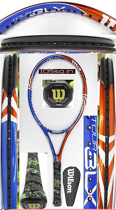 【中古 テニスラケット】W1150 ウイルソン ツアーBLX105