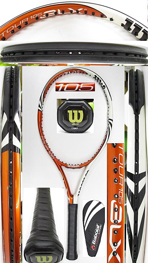 【中古 テニスラケット】W1152 ウイルソン ツアーBLX105 限定カラーモデル