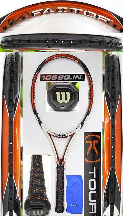 【中古 テニスラケット】W1153 ウイルソン [K]ツアー105