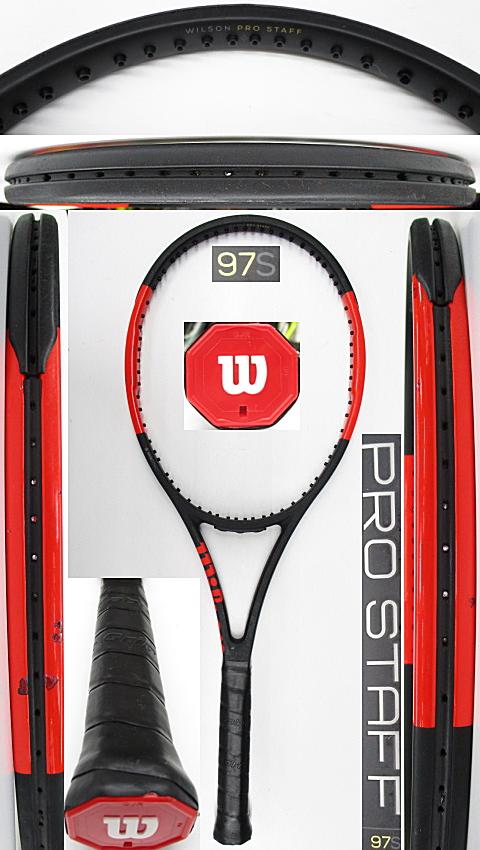 【中古 テニスラケット】W1154 ウイルソン プロスタッフ97S
