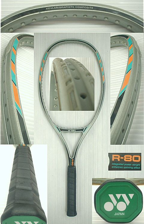 【中古テニスラケット】ヨネックス R-80 REXKING 80