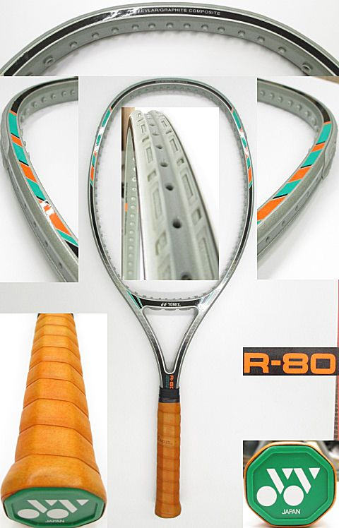 【中古 テニスラケット】Y0493 ヨネックス R-80