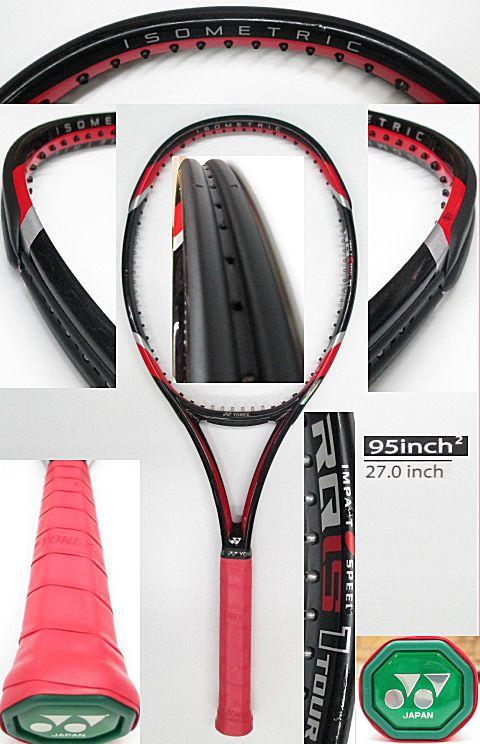 【中古 テニスラケット】Y0520 ヨネックス RQiS1ツアー