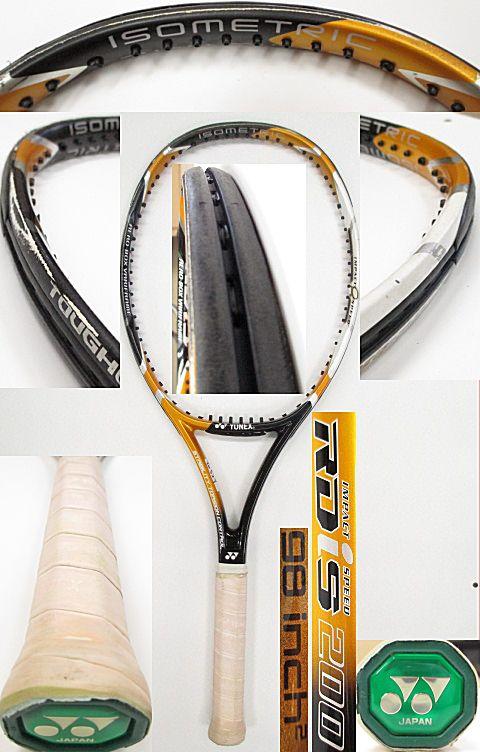 【中古 テニスラケット】Y0529 ヨネックス RDiS200