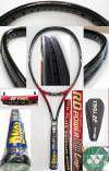 【中古テニスラケット】ヨネックス RDパワー10ロング ミッドプラス