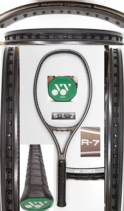 【中古 テニスラケット】Y0564 ヨネックス R-7