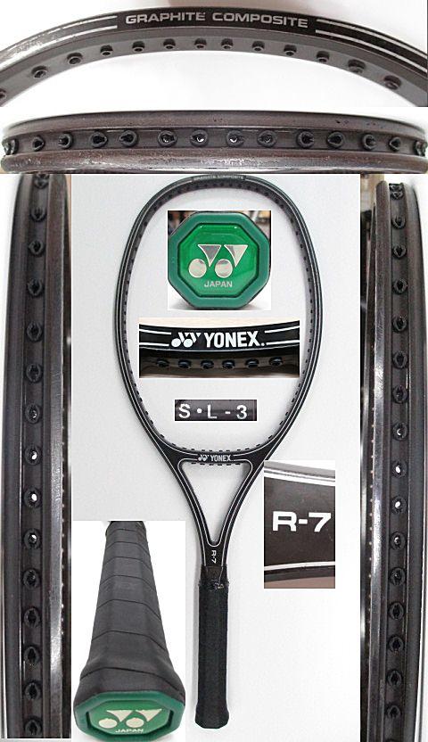 【中古 テニスラケット】Y0565 ヨネックス R-7