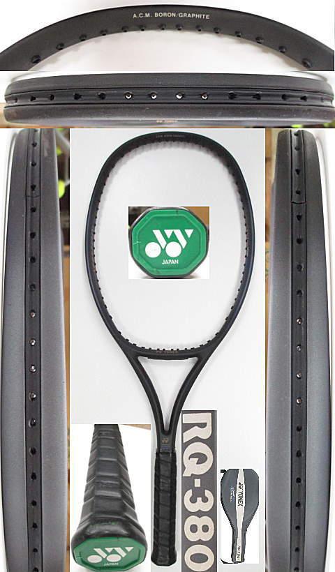 【中古 テニスラケット】Y0577 ヨネックス RQ-380