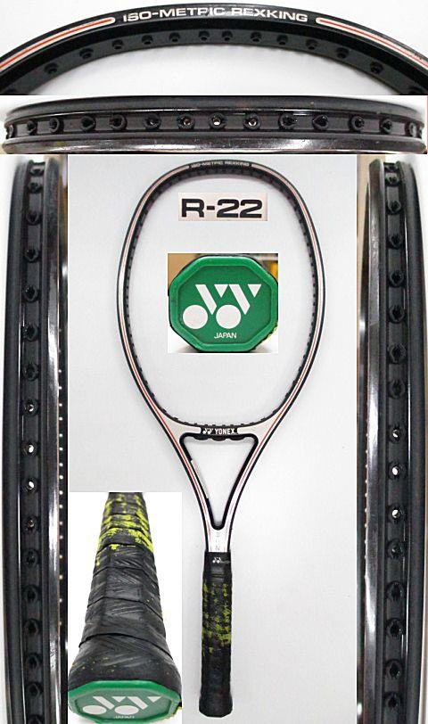 【中古 テニスラケット】Y0588 ヨネックス R-22
