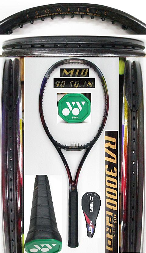 【中古 テニスラケット】Y0604 ヨネックス RA3000プロ MID