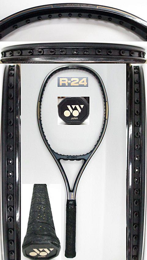 【中古 テニスラケット】Y0606 ヨネックス R-24