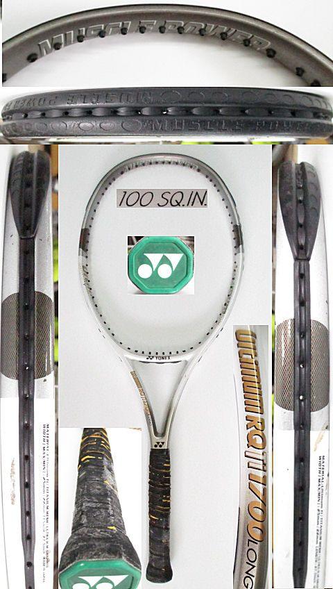 【中古 テニスラケット】Y0619 ヨネックス URQTiロング
