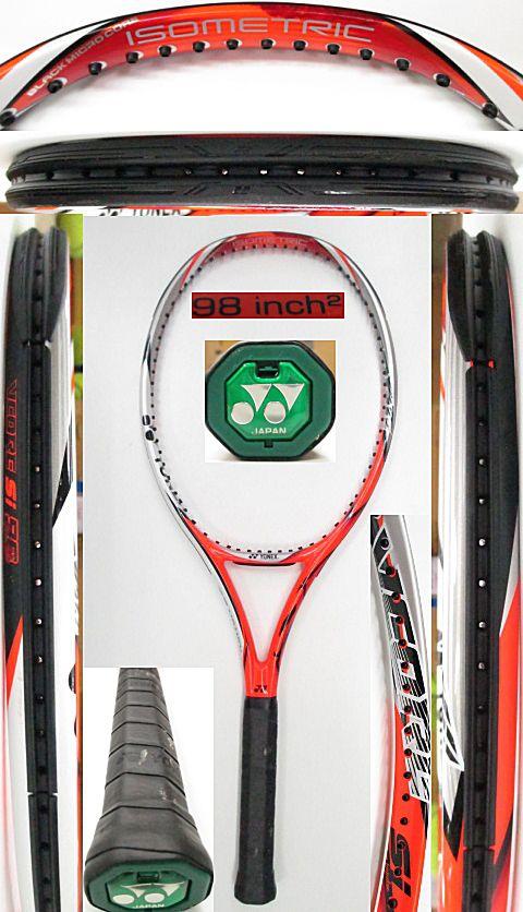 【中古 テニスラケット】Y0629 ヨネックス VCORE Si98
