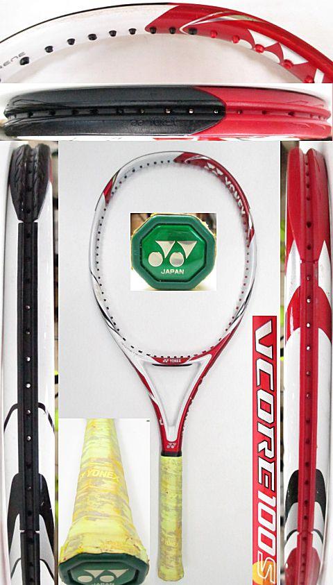 【中古 テニスラケット】Y0633 ヨネックス VCORE100S