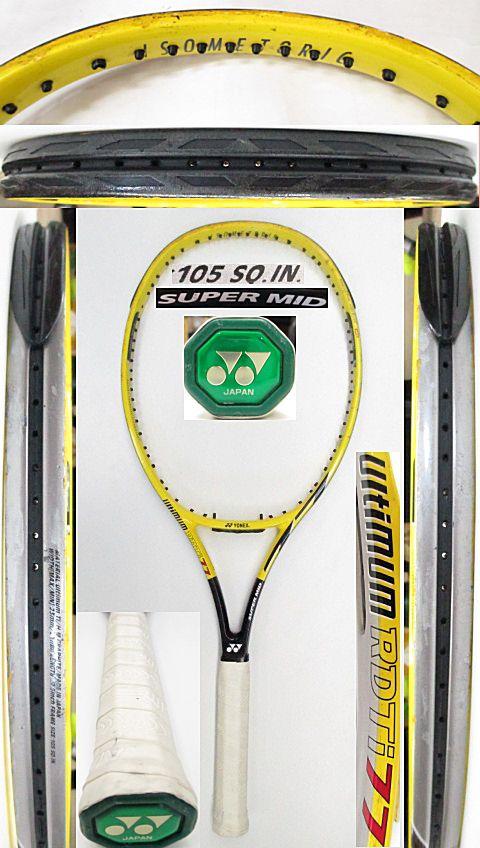 【中古 テニスラケット】Y0637 ヨネックス RDTi77 スーパーミッド
