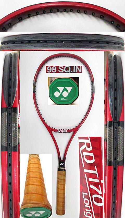 【中古 テニスラケット】Y0639 ヨネックス RDTi70ロング