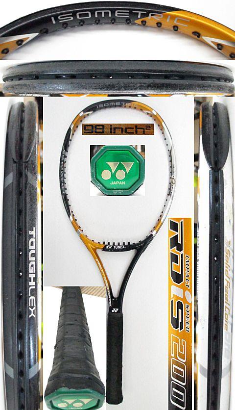 【中古 テニスラケット】Y0641 ヨネックス RDiS200