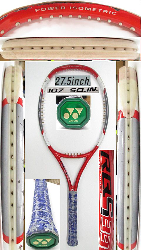 【中古 テニスラケット】Y0645 ヨネックス RQS33