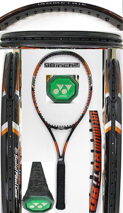 【中古 テニスラケット】Y0651 ヨネックス URDTi80