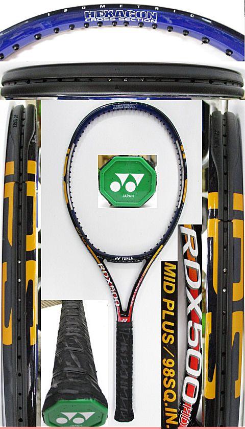 【中古 テニスラケット】Y0652 ヨネックス RDX500HD