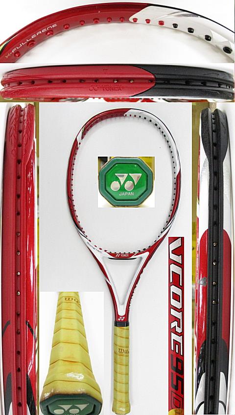 【中古 テニスラケット】Y0658 ヨネックス VCORE 95D