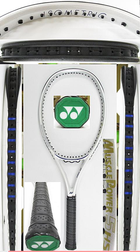 【中古 テニスラケット】Y0663 ヨネックス マッスルパワー5HS