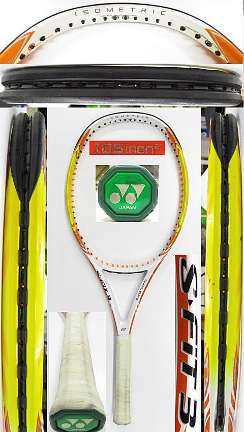 【中古 テニスラケット】Y0673 ヨネックス S-FIT3