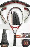 【中古 テニスラケット】ウイルソン ハンマー6.4ストレッチOS