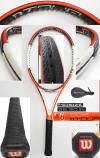 【中古テニスラケット】ウイルソン  nツアー95