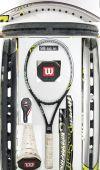 【中古テニスラケット】ウイルソン  ハイパー プロスタッフ7.6 ローラー