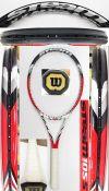 【中古テニスラケット】ウイルソン スチーム105S