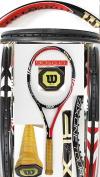 【中古テニスラケット】ウイルソン  SIX-ONEツアーBLX90