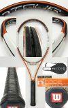【中古テニスラケット】ウイルソン ・nツアー105 (海外モデル)